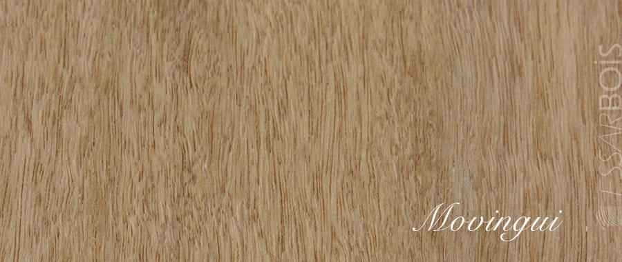 Essence de bois movingui exotique essarbois for Essence de bois exotique