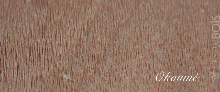 Essence de bois okoum exotique essarbois for Placage de bois exotique